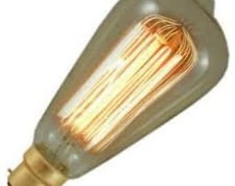Decorative Filament Squirrel Cage Bulb