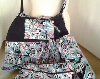 Diaper Bag /Purse with Changing Pad and Wet/Dry Bag