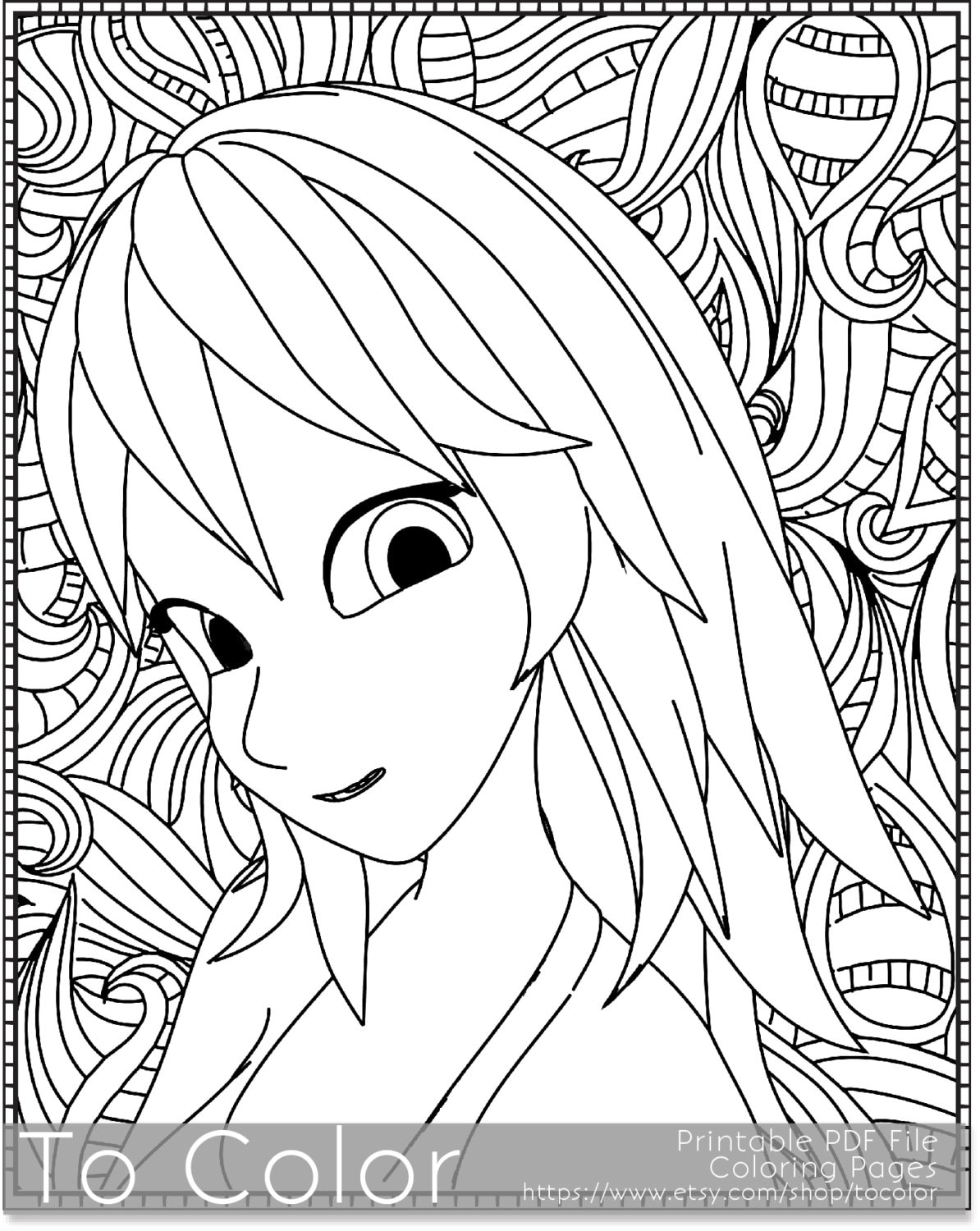 coloring pages retro - photo#18