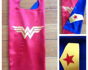 Wonder Woman Cape & Tiara Set
