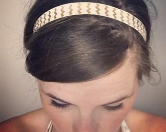 Single headband, Adult elastic headband, stretchy headband, no crease headbands
