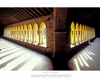 The Cloisters, Iona Abbey