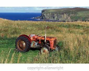 Old but working Massey Ferguson Tractor, Bettyhill, Sutherland