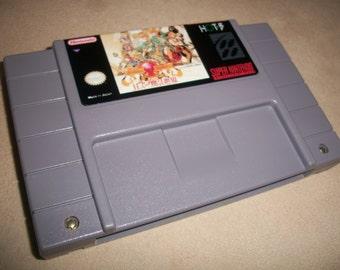 Ancient Magic Snes Super Nintendo RPG Game English Transaltion + New Battery Holder + New Battery