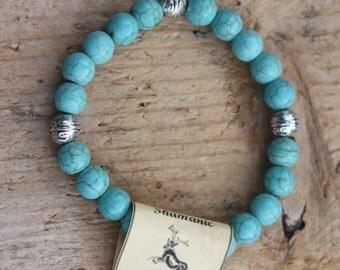 Healing Bracelet-Turquoise Howlite
