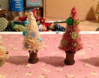 4 bottlebrush trees