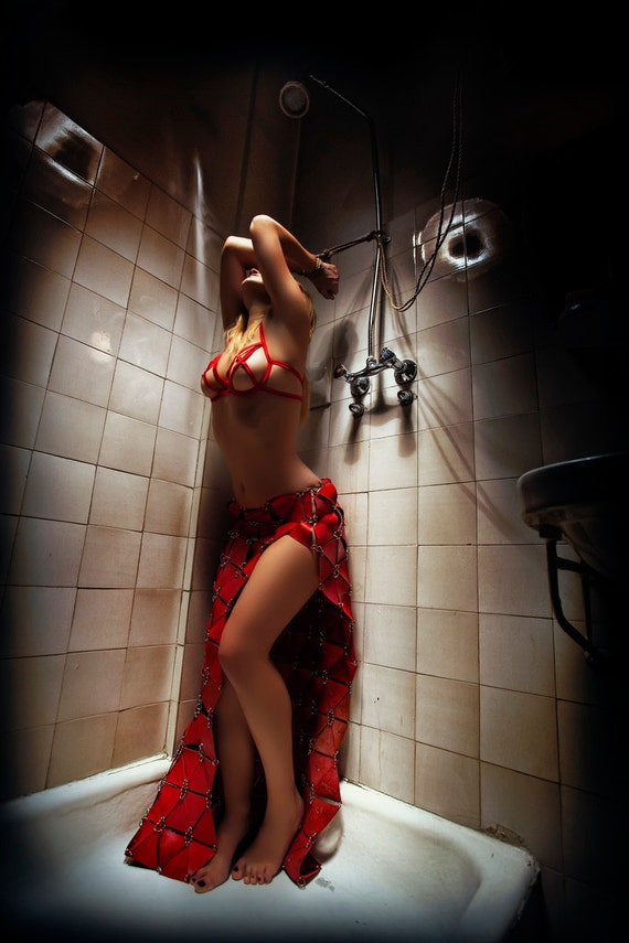 High quality erotic photography print on canvas shibari