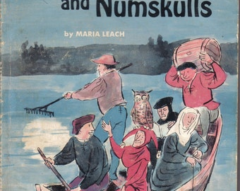 Noodles, Nitwits, and Numskulls by Maria Leach, 1973, Scholastic Books