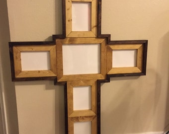 Large cross picture frame