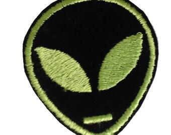 Vintage Alien Head Patch