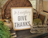 """Give Thanks 12""""x12&q..."""