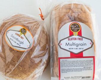 Gluten Free Multi-Grain & Sourdough Bread Pack