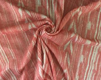 100% Cotton Jersey Distressed Arrow Print
