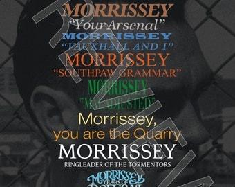 Tshirt - Morrissey: Discography (1988-2014)
