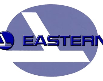 Eastern Airlines Logo Fridge Magnet (LM14030)