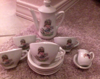 Vintage German children's tea set