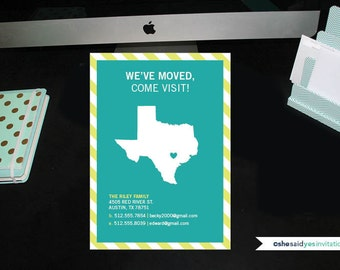 Texas Moving Announcement