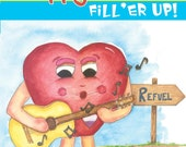 Children's book, Kids books, Picture book, Christian gifts, Gift for kids, My First Easter, Happy Heart: Fill'er Up!, Homeschooling, Heart