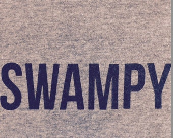 """Ultra Soft Fitted """"Swampy"""" T Shirt"""