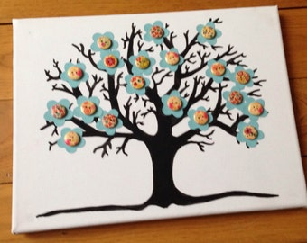 Spring Tree Canvas