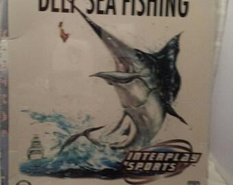 Virtual Deep Sea Fishing, CIB; sealed, Please read description