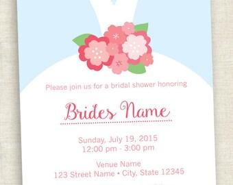 Bridal Shower - Printable Invite
