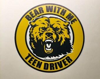Teen Driver Car Decal