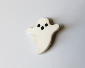 I Ain't Afraid of No Ghost - Ghost Brooch