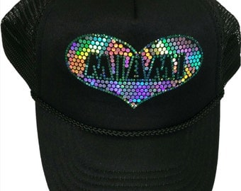 Miami Bling Cap sparkly Sequins glitter Hat