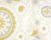 Premier Prints Suzani in River Rock Twill Home Decor fabric, 1 yard