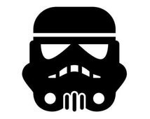 Stormtrooper Sticker Star Wars Vinyl Decal Storm Trooper