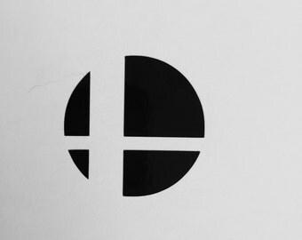 Super Smash Bros Vinyl Decal