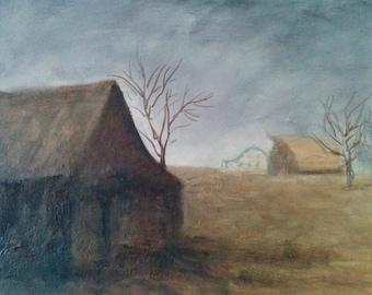 Desolate farm