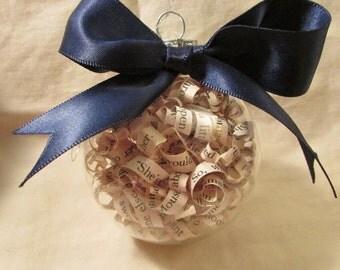 Narnia Paper Curl Ornament