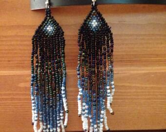 Ombré earrings