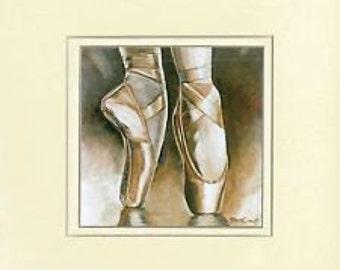 Ballerina Collection - En Pointe Ballet Shoes