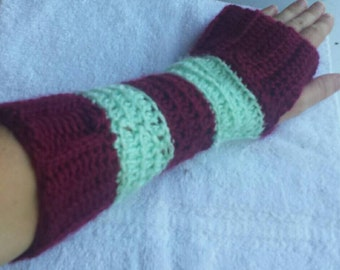 New and Unique Handmade arm warmers, fingerless gloves