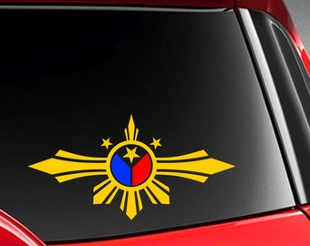 Filipino Car Sticker Etsy - Unique car decals stickers
