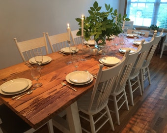RILEY Pine Farmhouse Table