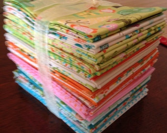 Reduced!! HAPPIER fabric, by Deena Rutter for Riley Blake Designs, 24 Fat Quarters!