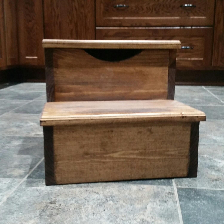 28 step stool with storage