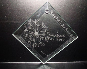 Etched Ornament