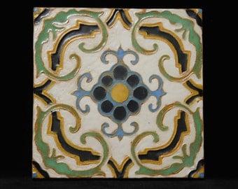 Vintage Malibu Laguna tile--Batchelder Los Angeles