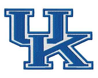 UK Solid Fill Embroidery Design 3x3 4x4 5x5 6x6 University Kentucky INSTANT DOWNLOAD