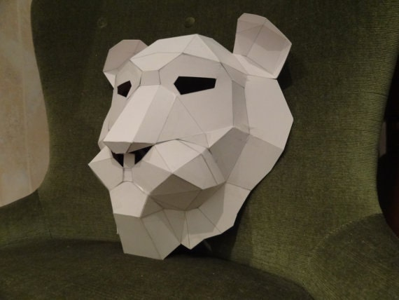 make your own lion mask from recycled paper pdf pattern pdf mask printable mask from. Black Bedroom Furniture Sets. Home Design Ideas