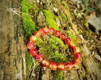 Lava Glitter Bracelet