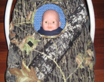 Camo Infant Car Seat Cover Etsy