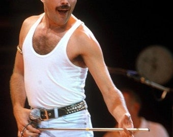 Queen Freddie Mercury Live On Stage 8x10 Photograph