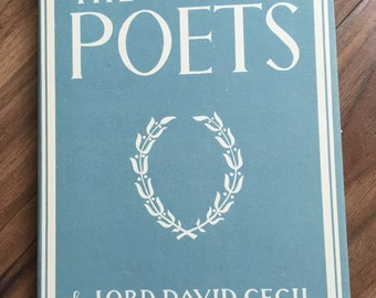 Hardback iPad mini/Kindle/tablet case - 'The English Poets' (1941.)