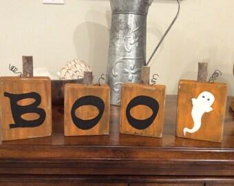 Block pumpkins